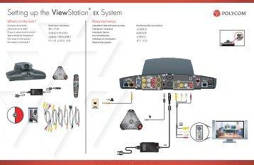 setting up the viewstation ex system knowledge base polycom rh yumpu com Polycom FX Polycom Microphone Cables