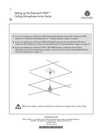 clearone beamforming microphone array manual