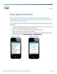 Cisco Jabber for Windows - InterCall