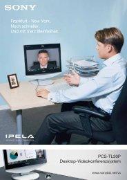 PCS-TL30P Desktop-Videokonferenzsystem Frankfurt ... - DEKOM
