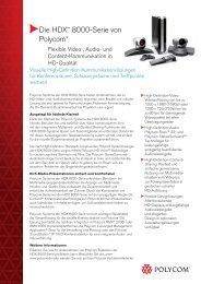 Zum Fact Sheet von Polycom® HDX® 8000-Serie