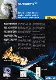 Weatherman – Weather Satellite Station - Vierling