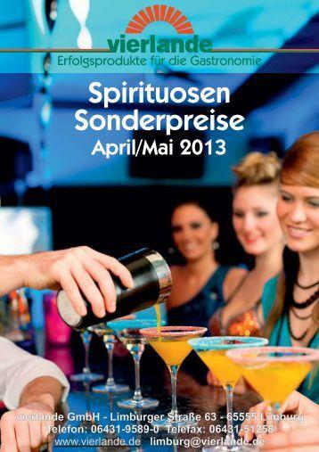 Spirituosen Sonderpreise - vierlande GmbH