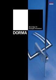 DORMA ARCOS Office - Prätzlich Team Profi Glas GmbH