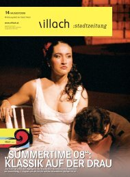 """SUMMERTIME 08"": KLASSIK AUF DER DRAU - Villach"
