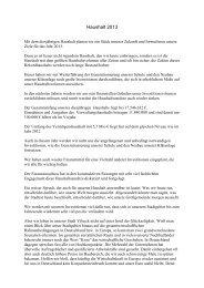 Haushaltsrede Bürgermeister Hans-Martin Schertl - bei der Stadt ...