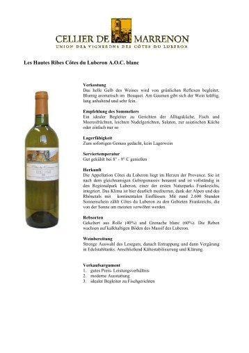 Grand Luberon - Vinergie