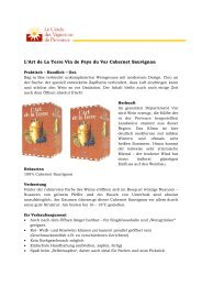 L'Art de La Terre Vin de Pays du Var Cabernet Sauvignon - Vinergie