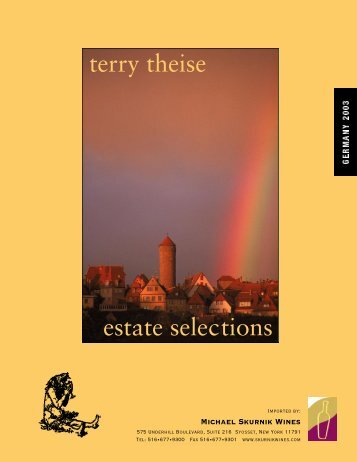 terry theise estate selections - VinoNet
