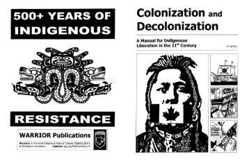 Colonization and Decolonization pdf - Anti-Politics