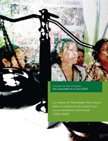 tesis licenciatura final - Instituto Nacional de las Mujeres