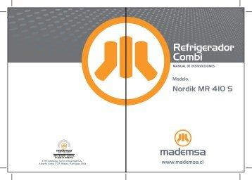 Refrigerador Combi - Mademsa