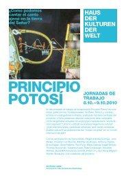 Jornadas de trabaJo 8.10. – 9.10.2010
