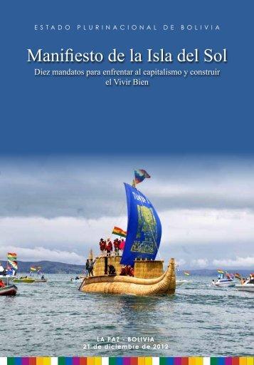 Manifiesto de la Isla del Sol