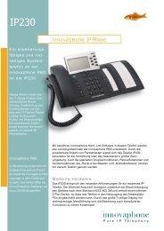 innovaphone IP Phone - ECMSvario
