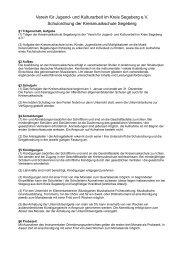 Entgeltordnung A5, Preisübersicht und ... - Verein für Jugend