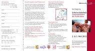 Schulsozialarbeit 2. & 3. Mai  2012