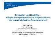 Vortrag Prof. Dr. Anke Spies 2. Mai 2012