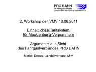 Vortrag 2. Workshop Herr Marcel Drews - VMV ...