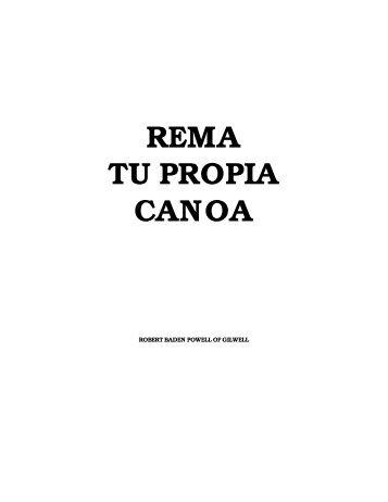 Rema tu Propia Canoa