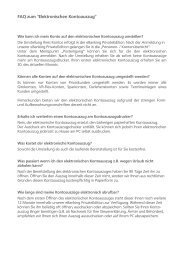 FAQ zum