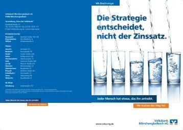 Infoflyer VR-ZinsStrategie (935  KB) - Volksbank Mönchengladbach eG
