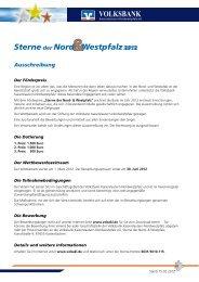 i}; E - Volksbank Kaiserslautern-Nordwestpfalz eG