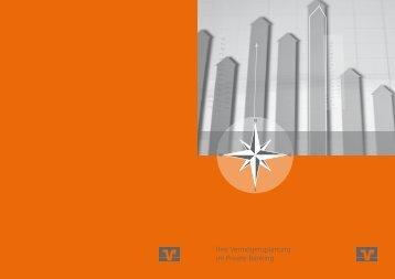 Financial Planning Broschüre