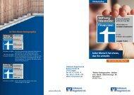 Flyer zur VR-RentePlus - Volksbank Siegerland eG