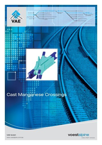 Cast Manganese Crossings - voestalpine