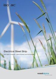 Electrical Steel Strip - voestalpine