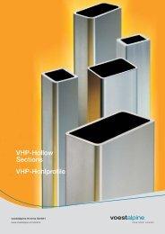 Broschüre VHP Hohlprofile - voestalpine