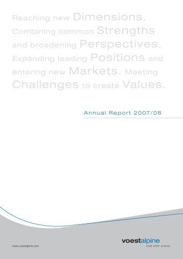 Annual Report - voestalpine