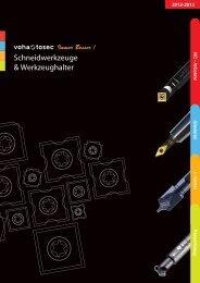 Schneidwerkzeuge & Werkzeughalter - Voha- Tosec Werkzeuge ...