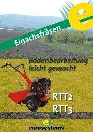 Die kompakte Fräse – RTT - Eurosystems Motorgeräte