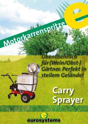 Motorspritze Carry Sprayer - Eurosystems