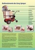 Motorspritze Carry Sprayer - Eurosystems - Seite 2