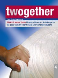 ATMOS Premium Tissue I Energy efficiency – A challenge for ... - Voith