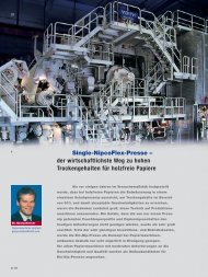 Single-NipcoFlex-Presse – der wirtschaftlichste Weg zu ... - Voith