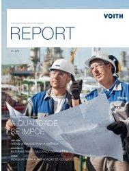 Revista do cliente Voith Report Edição 1/2013
