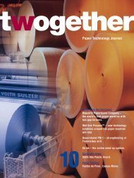 Paper Technology Journal - Voith