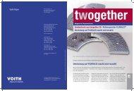 Sonderdruck Twogether 28 (2009) (de) - Voith