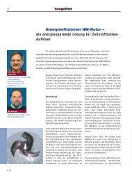 Energieeffizienter HM-Rotor – die energiesparende Lösung ... - Voith
