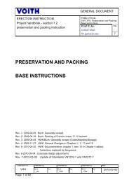 Preservation and Packing Base Instruction (3.54 MB) - Voith
