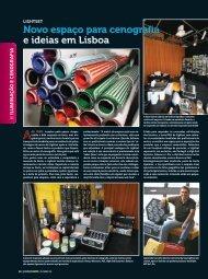 Novo espaço para cenografia e ideias em Lisboa