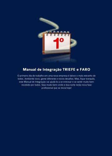 Manual de Integração TRIEFE e FARO