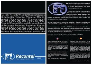 Catálogo Virtual - Recontel
