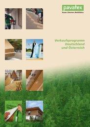 Verkaufsprogramm Deutschland und Österreich
