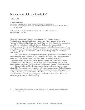 Die Karte ist nicht die Landschaft - Systemisches Institut Augsburg ...
