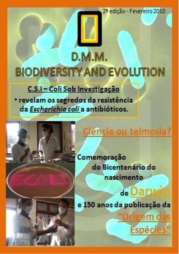 pdf - Darwin 2009 - Ciência Viva